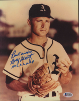 "Bobby Shantz Signed Athletics 8x10 Photo Inscribed ""Best Wishes"" & ""1952 AL MVP"" (Beckett COA) at PristineAuction.com"