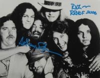 "Artimus Pyle Signed Lynyrd Skynyrd 11x14 Photo Inscribed ""RVZ"" & ""RRHOF 2006"" (AutographCOA COA) at PristineAuction.com"