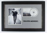 """Shawn Mendes Signed """"Wonder"""" 18.5x26.5 Custom Framed CD Booklet Display (JSA COA) at PristineAuction.com"""