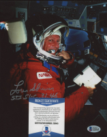 "Loren Shriver Signed NASA 8x10 Photo Inscribed ""STS 51-C, 31, 46"" (Beckett COA) at PristineAuction.com"