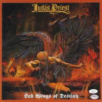 "Rob Halford Signed ""Judas Priest"" God Sings of Destiny 12x12 Photo (JSA COA & PSA Hologram) at PristineAuction.com"