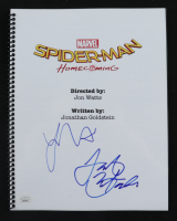 "Laura Harrier & Jacob Batalon Signed ""Spiderman: Homecoming"" Script (JSA COA) at PristineAuction.com"
