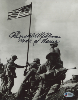 """Hershel Williams Signed 8x10 Photo Inscribed """"Medal Of Honor"""" (Beckett COA) at PristineAuction.com"""