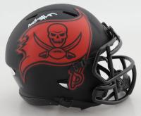 Antonio Brown Signed Buccaneers Eclipse Alternate Speed Mini-Helmet (JSA COA) (See Description) at PristineAuction.com