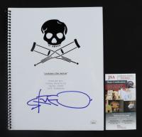 "Steve-O Signed ""Jackass: The Movie"" 8x10 Script (JSA COA) at PristineAuction.com"