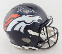 Bradley Chubb Signed Broncos Full-Size Authentic On-Field Speed Helmet (Beckett COA) at PristineAuction.com