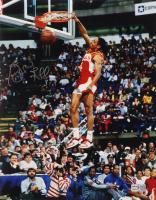 Spud Webb Signed Hawks 11x14 Photo (TriStar Hologram) at PristineAuction.com