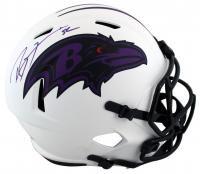 Ray Lewis Signed Ravens Full-Size Lunar Eclipse Alternate Speed Helmet (Beckett Hologram) at PristineAuction.com