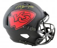 Tony Gonzalez Signed Chiefs Full-Size Eclipse Alternate Speed Helmet (Beckett Hologram) at PristineAuction.com