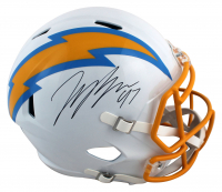 Joey Bosa Signed Chargers Full-Size Speed Helmet (Beckett Hologram) at PristineAuction.com