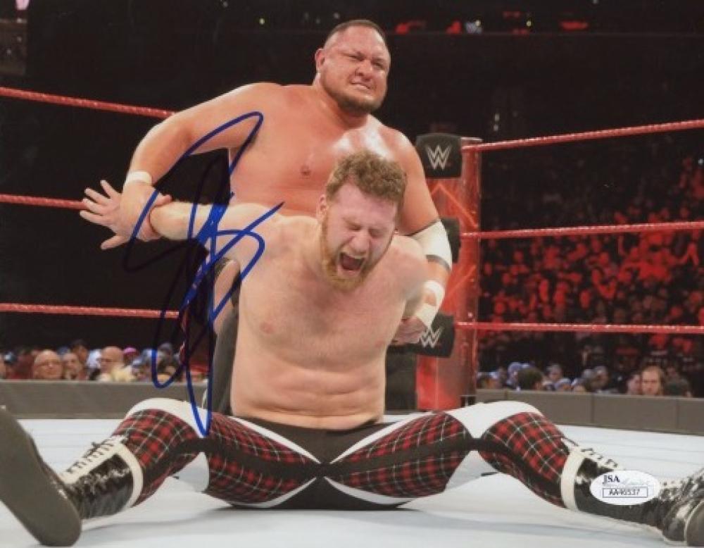 Samoa Joe Signed WWE 8x10 Photo (JSA Hologram) at PristineAuction.com