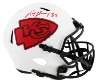 Tony Gonzalez Signed Chiefs Full-Size Lunar Eclipse Alternate Speed Helmet (Beckett Hologram) at PristineAuction.com