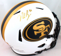 Nick Bosa Signed 49ers Full-Size Authentic On-Field Lunar Eclipse Alternate Speed Helmet (Beckett Hologram) at PristineAuction.com