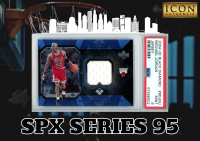 Icon Authentic SPX Series 95 Mystery Box 100+ Cards Per Box at PristineAuction.com