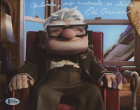 """Ed Asner Signed """"Up"""" 8x10 Photo Inscribed """"Bliss, No Animals Or Kids"""" (Beckett COA) at PristineAuction.com"""