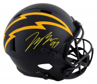 Joey Bosa Signed Chargers Full-Size Eclipse Alternate Speed Helmet (Beckett Hologram) at PristineAuction.com