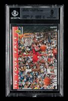 Michael Jordan 1992-93 Upper Deck #453A / FACE ERR (BGS 9) at PristineAuction.com
