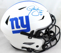 Lawrence Taylor Signed Giants Full-Size Lunar Eclipse Alternate Authentic On-Field SpeedFlex Helmet (Beckett Hologram) at PristineAuction.com