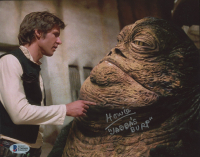 """Howie Hammermann Signed """"Star Wars: Return of the Jedi"""" 8x10 Photo Inscribed """"Jabba's Burp"""" (Beckett COA) at PristineAuction.com"""