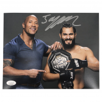 Jorge Masvidal Signed UFC 8x10 Photo (JSA COA) at PristineAuction.com