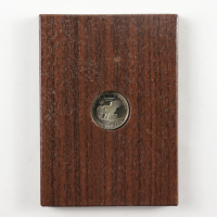 """1974-S Eisenhower """"Ike"""" $1 Dollar Coin with Display Case at PristineAuction.com"""