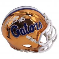 Kadarius Toney Signed Florida Gators Chrome Speed Mini Helmet (JSA COA) at PristineAuction.com