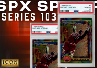 Icon Authentic SPX Series 103 Mystery Box 100+ Cards Per Box at PristineAuction.com