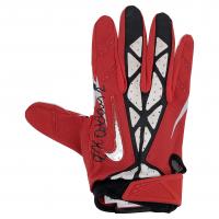 J. K. Dobbins Signed Ohio State Buckeyes Game-Used Nike Football Glove (JSA COA) (See Description) at PristineAuction.com