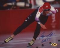"Bonnie Blair Signed Team USA 8x10 Photo Inscribed ""Gold X 5"" (MAB Hologram) at PristineAuction.com"