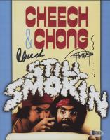 Tommy Chong & Cheech Marin Signed 8x10 Photo (Beckett COA) at PristineAuction.com