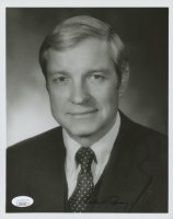 Charles H. Percy Signed 8x10 Photo (JSA COA) (See Description) at PristineAuction.com