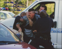 """Benjamin Busch Signed """"The Wire"""" 8x10 Photo Inscribed """"We're The Police!"""" & """"Colicchio Forever!"""" (Beckett COA) at PristineAuction.com"""