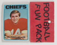 1972 Topps Football Card Fun Pack with (10) Cards (See Description) at PristineAuction.com