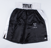 Tim Witherspoon Signed Boxing Trunks (JSA COA) at PristineAuction.com