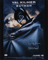 "Val Kilmer Signed ""Batman"" 16x20 Photo Inscribed ""Batman"" (PSA Hologram) (See Description) at PristineAuction.com"