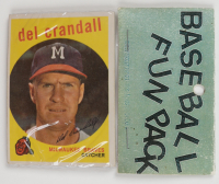 1959 Topps Baseball Card Fun Pack with (10) Cards (See Description) at PristineAuction.com