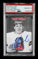 Troy Aikman Signed 2007 Trading Card (PSA Encapsulated) at PristineAuction.com