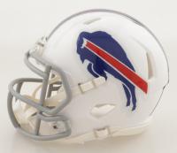 Stefon Diggs Signed Bills Speed Mini Helmet (Beckett Hologram) at PristineAuction.com
