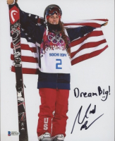 "Maddie Bowman Signed Team USA 8x10 Photo Inscribed ""Dream Big!"" (Beckett COA) (See Description) at PristineAuction.com"