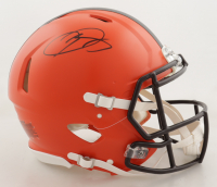 Odell Beckham Jr. Signed Browns Full-Size Authentic On-Field Speed Helmet (JSA COA) at PristineAuction.com