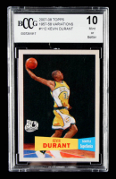 Kevin Durant 2007-08 Topps 1957-58 Variations #112 (BCCG 10) at PristineAuction.com