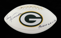 """Jerry Kramer Signed Packers Logo Football Inscribed """"Packer For Life"""" (JSA COA) (See Description) at PristineAuction.com"""