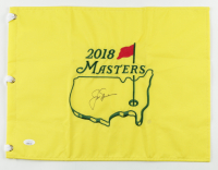 Jack Nicklaus Signed 2018 Masters Tournament Pin Flag (Beckett LOA) (See Description) at PristineAuction.com