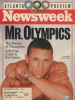 "Dan O'Brien Signed ""Newsweek"" 8x10 Print (Palm Beach COA) at PristineAuction.com"