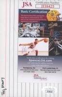 Tahj Mowry Signed 4x6 Index Card (JSA COA) (See Description) at PristineAuction.com