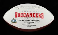 Keyshawn Johnson Signed Buccaneers Logo Football (JSA COA) at PristineAuction.com