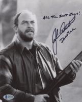 "John Ashton Signed ""Midnight Run"" 8x10 Photo Inscribed ""All the Best Guys!"" & ""Dorfler"" (Beckett COA) at PristineAuction.com"