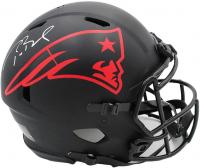 Tom Brady Signed Patriots Full-Size Authentic On-Field Eclipse Alternate Speed Helmet (Fanatics Hologram) at PristineAuction.com