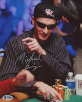 Michael Binger Signed 8x10 Photo (Beckett COA) at PristineAuction.com