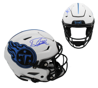 Derrick Henry Signed Titans Full-Size Lunar Eclipse Alternate SpeedFlex Helmet (Beckett Hologram) at PristineAuction.com